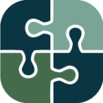 partnership puzzle icon color